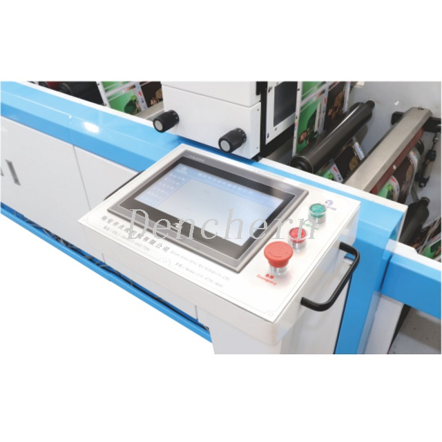 DC-370 Vision online inspection die cutting machine